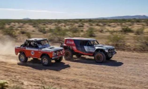 فورد - فورد در ۱۳ ژوئیه(۲۳ تیر) در همکاری با دیزنی از Bronco SUV رونمایی میکند