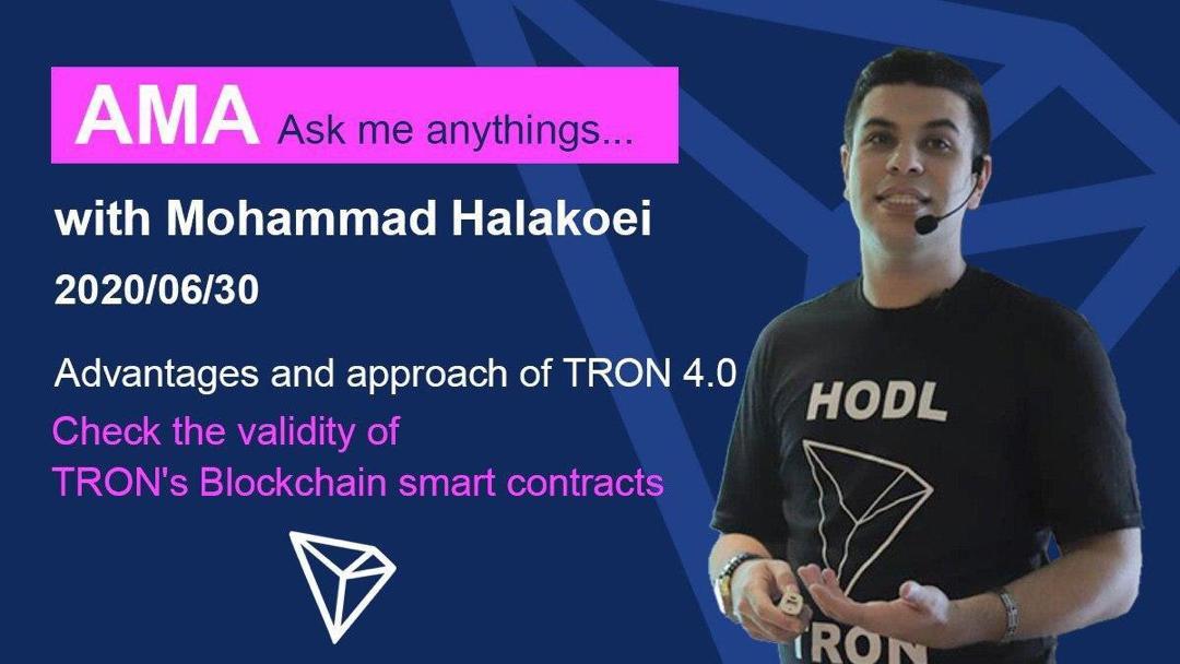 65ed1505 52ae 46ce 8dfd bb79b7677f7b - پرسش و پاسخ AMA ارز دیجیتال ترون با محمد هلاکوئی