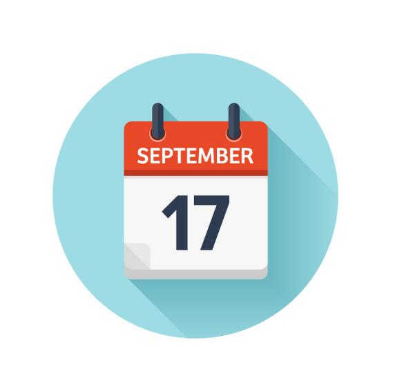 september 17 - رویداد های کریپتو و بلاکچین 27 شهریور ( 17 سپتامبر)