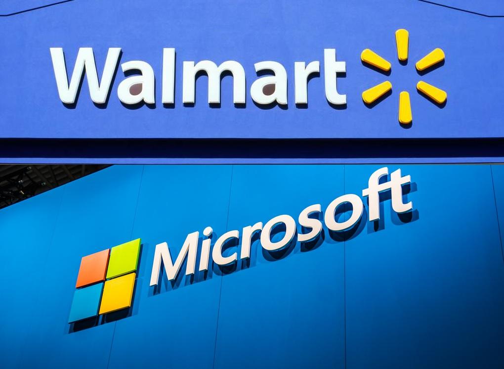 Walmart Google - شراکت Walmart با مایکروسافت برای خرید TikTok!