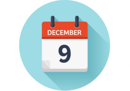 2020 09 15 21 24 04 December 9 flat daily calendar icon date Vector Image 420x294 - آموزش ارز دیجیتال