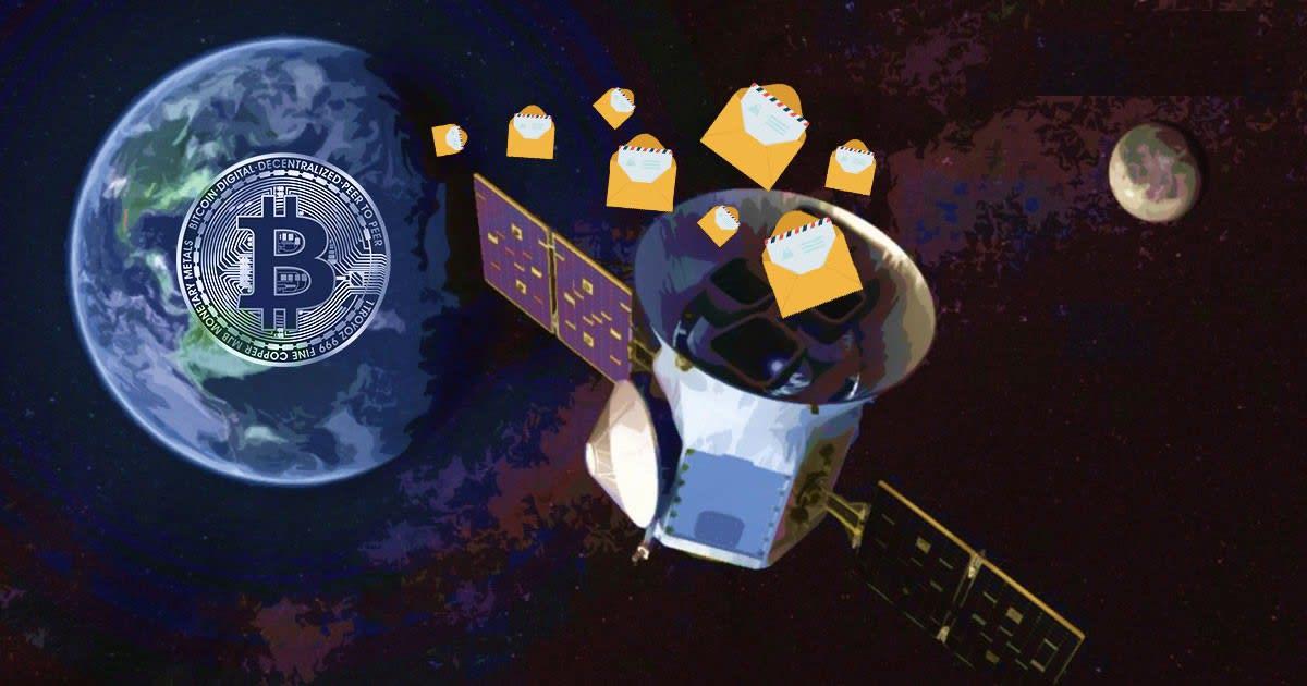 BTC SPACE - بیت کوین فضایی: نصب ماهواره ی بیت کوین توسط صرافی BitMEX!