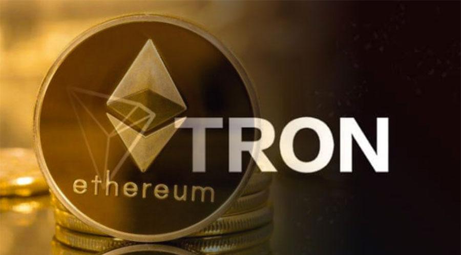 Tron with Ethereum - جابجایی 1 میلیارد USDT از ترون به اتریوم