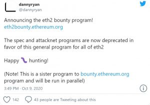 Dannyryan 300x210 - اجرای یک برنامه ی باگ بانتی بر روی شبکه ی آزمایشی اتریوم 2.0