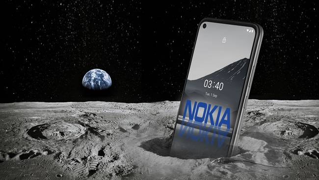 NOKIA NASA - همکاری نوکیا با ناسا برای ساخت اولین شبکه تلفن همراه در کره ی ماه!