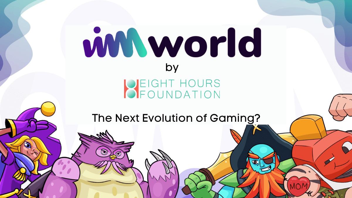 VIMworld 8hour Foundation 1 - بنیاد 8Hours چیست و چگونه به تکامل صنعت گیمینگ کمک می کند؟