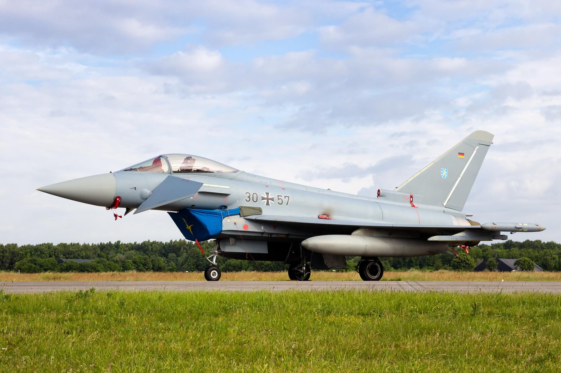 a german eurofighter typhoon - قرارداد خرید 38 یوروفایتر بین ایرباس و نیروی هوایی آلمان امضاء شد