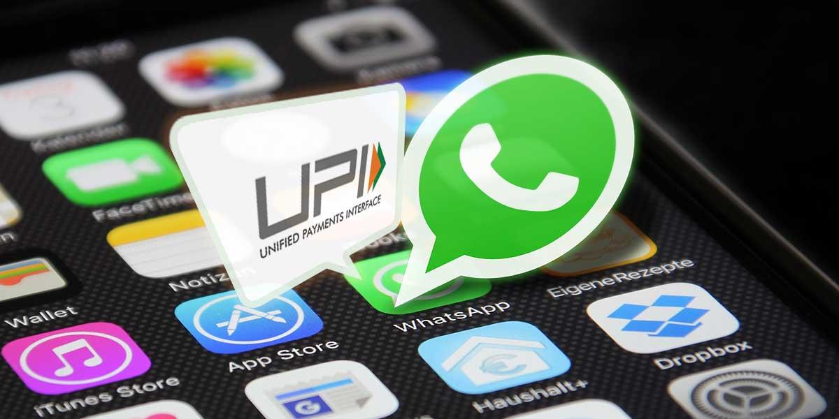 whatsapp upi image - فیسبوک قابلیت پرداخت واتساپ را در هند گسترش می دهد