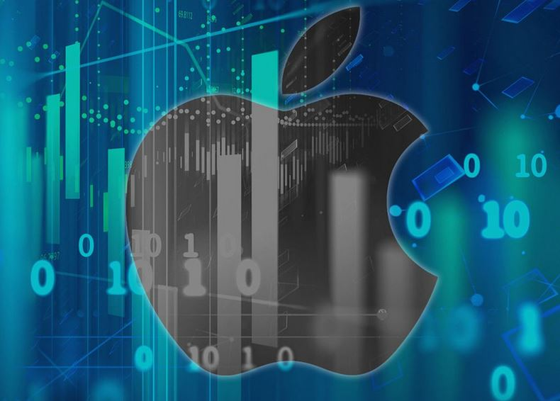سهام اپل داوجونز 3 - بررسی عملکرد سهام کمپانی اپل (AAPL) در آخرین روز معاملات