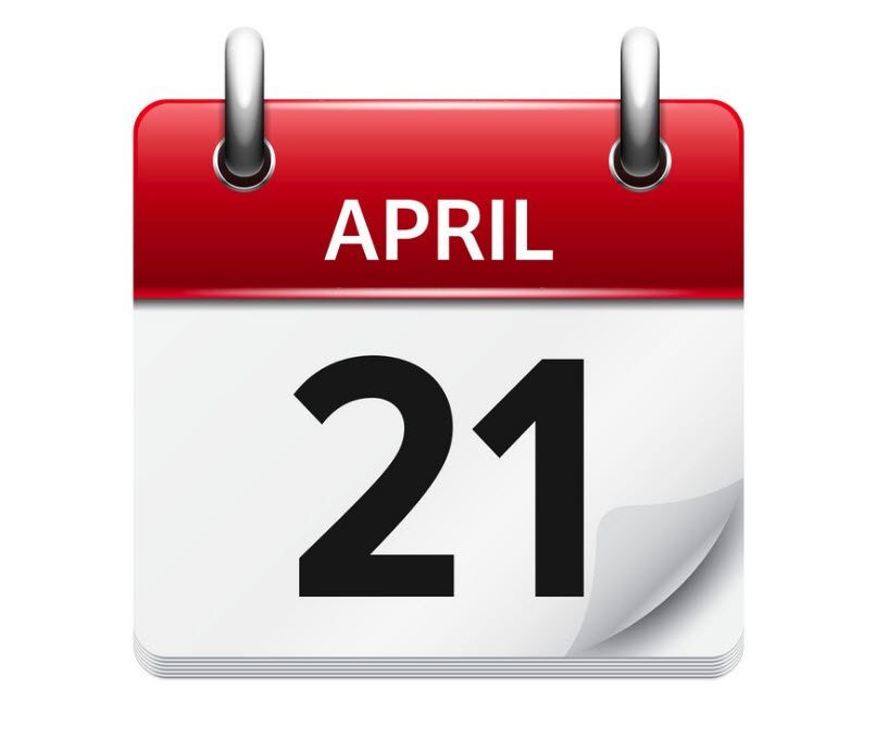 21 April - رویداد های کریپتو و بلاکچین 1 اردیبهشت (21 آوریل)