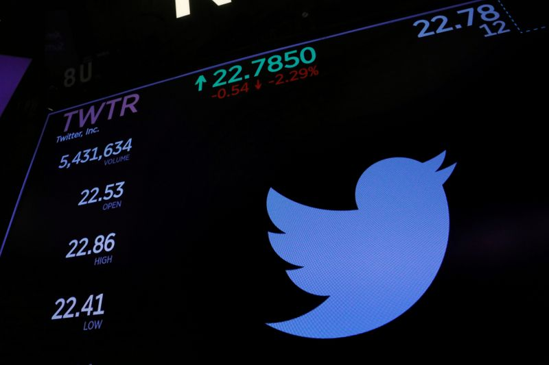 Twitter stock - کاهش سهام توئیتر پس از مسدود کردن دائمی حساب دونالد ترامپ