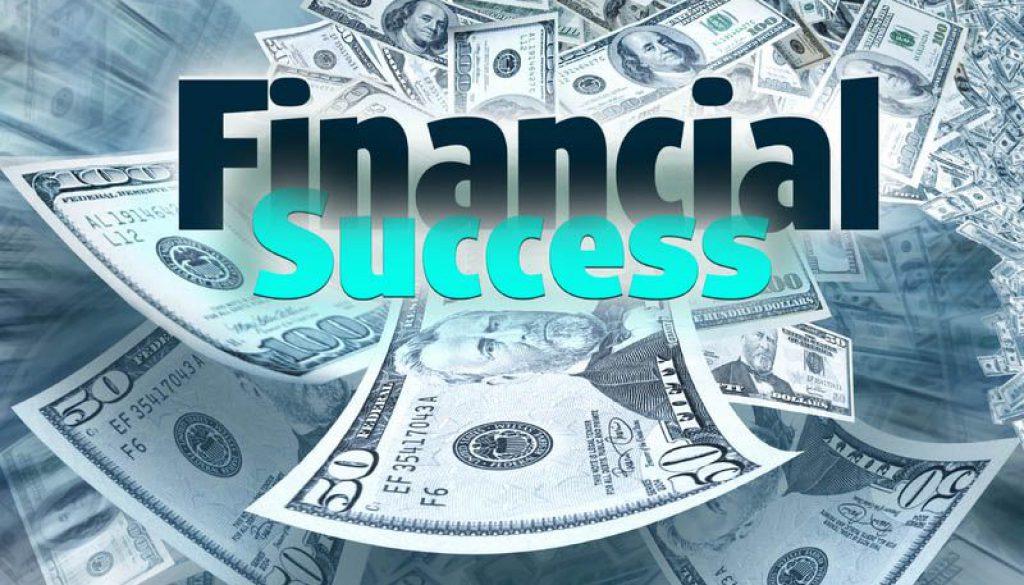 financial success - موفقیت مالیبه شیوه بزرگان
