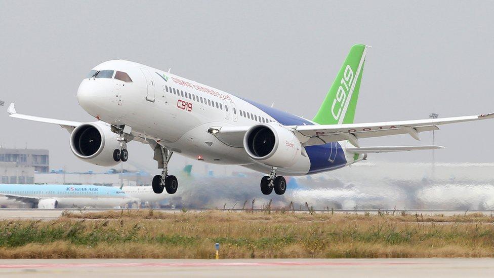106555248 comacc919 - هواپیمای C919  ساخت چین در مسیر اخذ مجوز پرواز!
