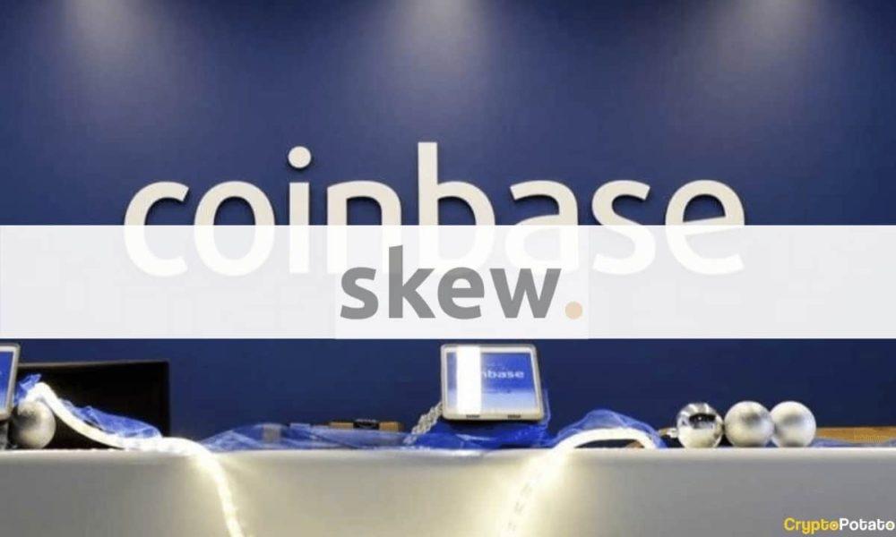 کوین بیس - پلتفرم تحلیل داده Skew به کوین بیس ملحق خواهد شد