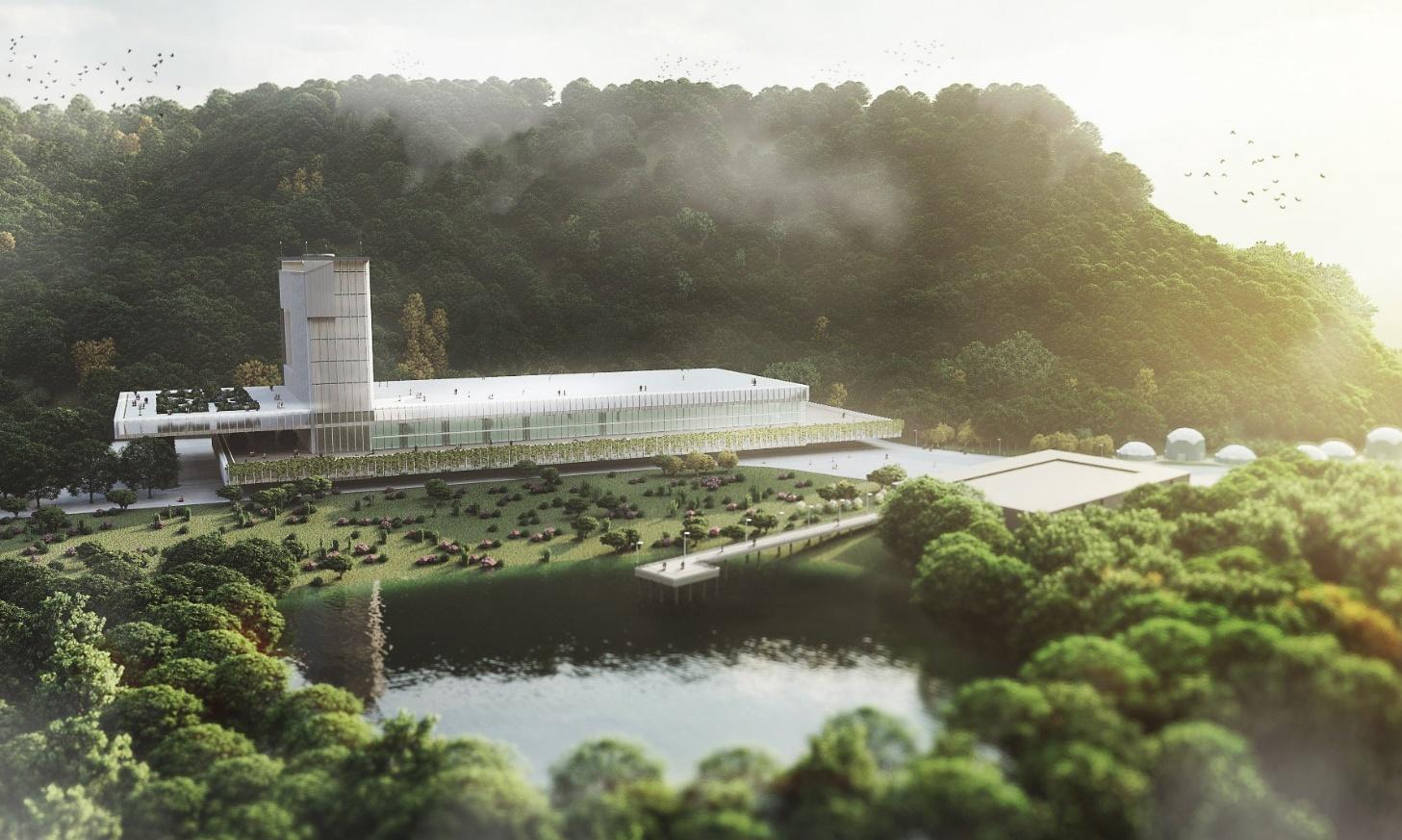 فارم استخراج - السالوادور از ماکت مزرعه استخراج بیت کوین در دست ساخت این کشور رونمایی کرد