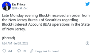 BlockFi Receives Cease 300x177 - دادستان کل نیوجرسی دستور توقف ادامه فعالیت بلاک فای را صادر کرد