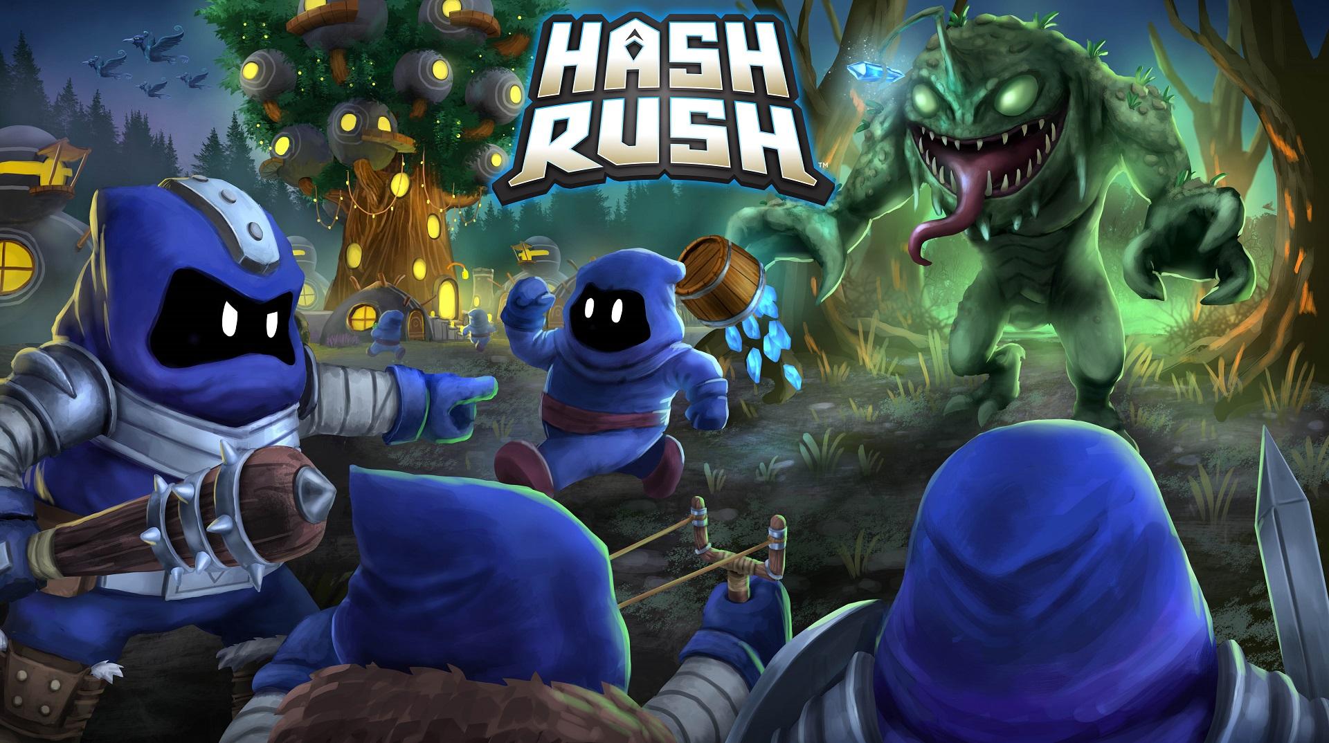 بازی Hash Rush