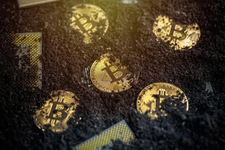 Bitcoin mining 1 768x511 1 - سختی استخراج بیت کوین 13.2 درصد افزایش یافت