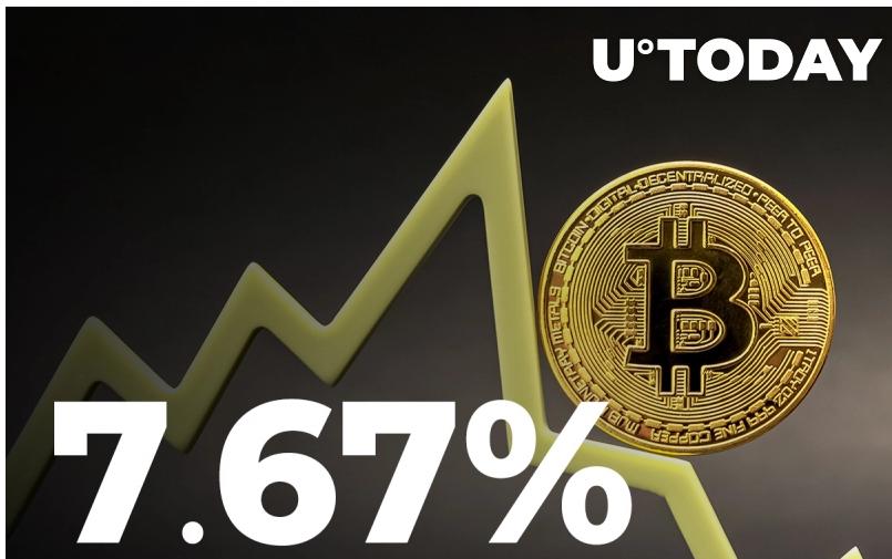 screenshot u.today 2021.08.02 19 02 20 - دلایل احتمالی افت 7.67 درصدی بزرگترین رمزارز بازار پس از رسیدن به سقف قیمتی خود از ماه مه