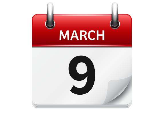 march 9 - رویدادهای کریپتو و بلاک چین 18 اسفند(9 مارس)