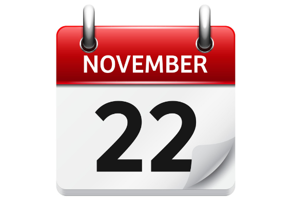 november 22 - رویدادهای کریپتو و بلاک چین 1 آذر(22 نوامبر)