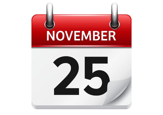 november 25 - رویدادهای کریپتو و بلاک چین 4 آذر(25 نوامبر)