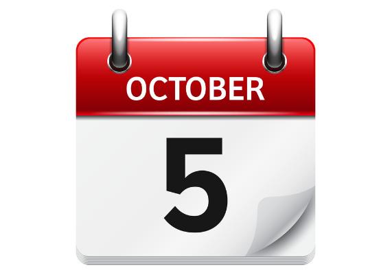 october 5 - رویداد های کریپتو و بلاک چین 13 مهر(5 اکتبر)