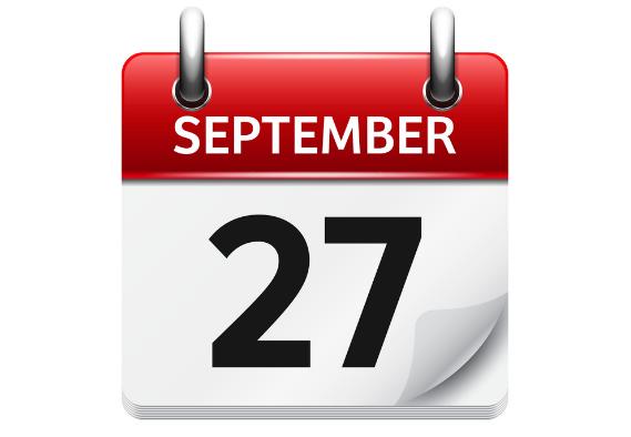september 27 - رویداد های کریپتو و بلاک چین 5 مهر(27سپتامبر)