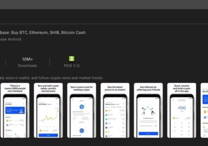 Coinbase App 420x294 - آموزش ارز دیجیتال