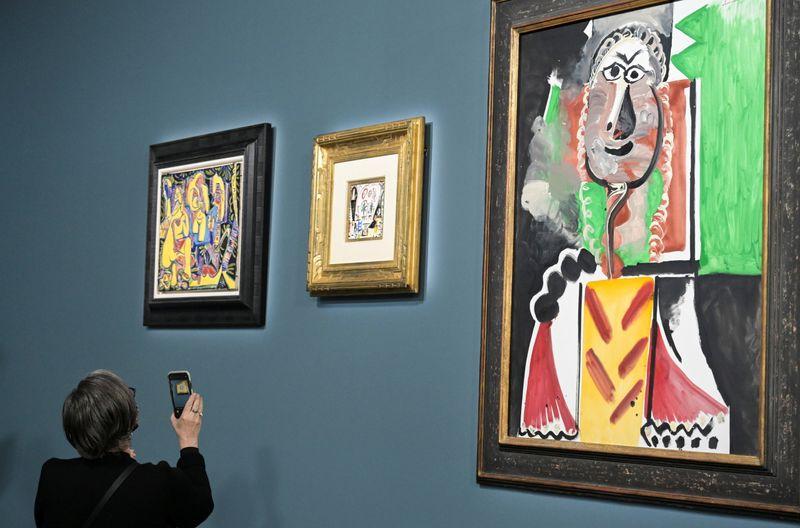 LYNXMPEH9N011 L - آثار هنری پیکاسو در لاس وگاس بیش از 100 میلیون به فروش رفت