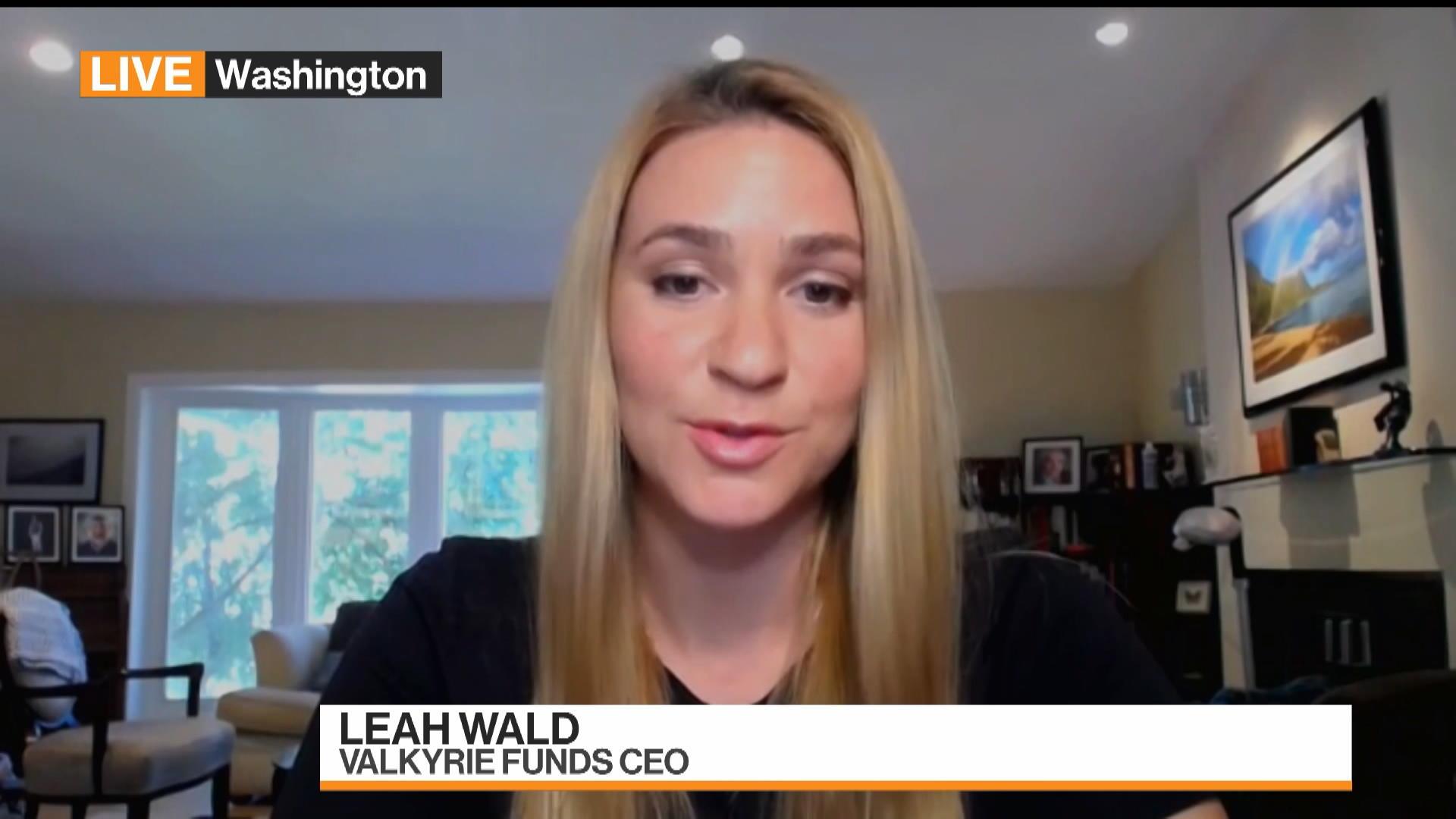 Valkyrie Funds CEO Leah Wald on choosing Nasdaq exchange - مدیر عامل شرکت سرمایه گذاری والکری: بورس نزدک، تنها انتخاب بدیهی ما برای نخستین ETF شرکت بود